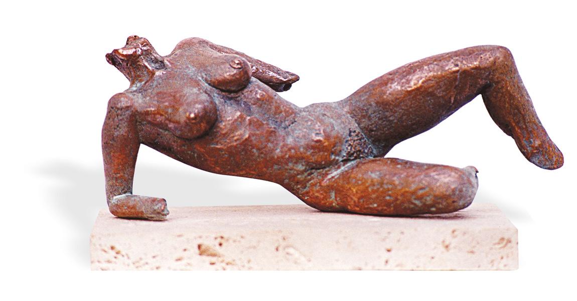 Mi piaci così Tecnica: bronzo patinato