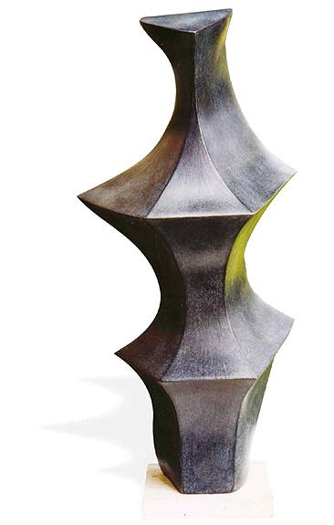"""Evoluzione del tema """"2000"""" Tecnica: terracotta patinata"""